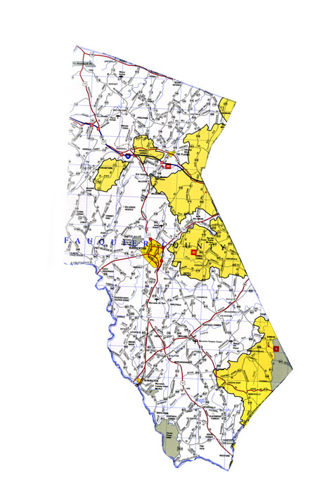 Fauquier County Outline