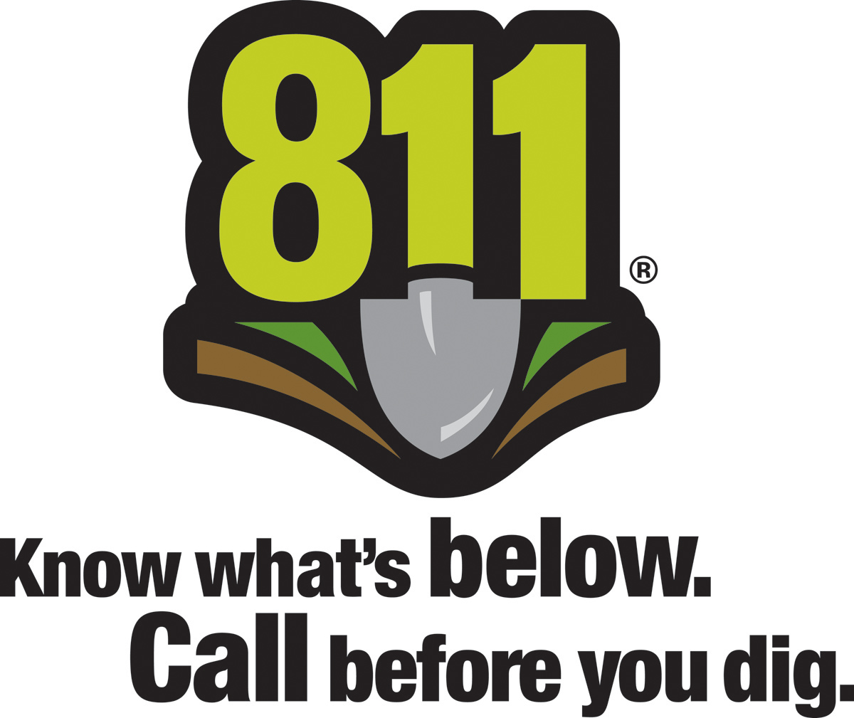 Call Before You Dig Before planning to dig on your property, be safe, not sorry. call before you dig