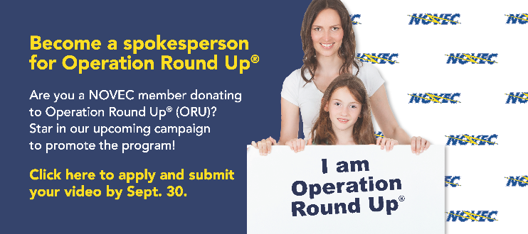 Become a Spokesperson for Operation Round Up