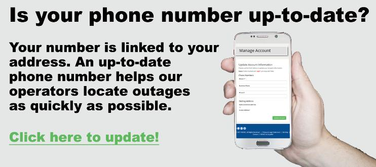 Is your phone number up-to-date