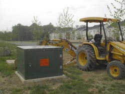 Crews may need to dig around transformers on your property
